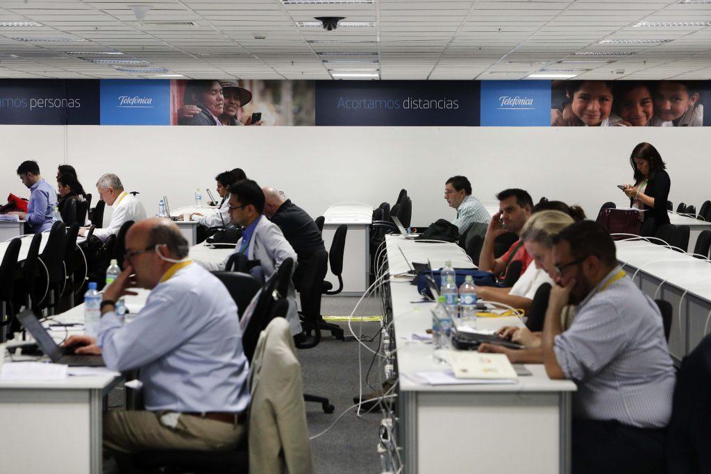 El segmento B2B de Telefónica habilitó en tiempo récord transmisión de datos e internet en centros de prensa internacional