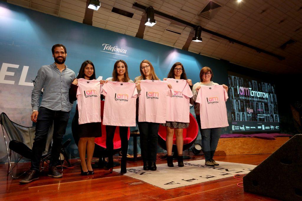 """Inspiración y empoderamiento femenino presente en festival """"I am tomorrow"""""""